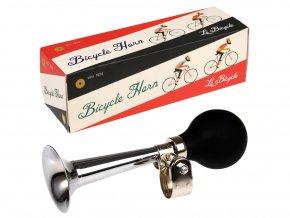 Retro trumpeta na kolo