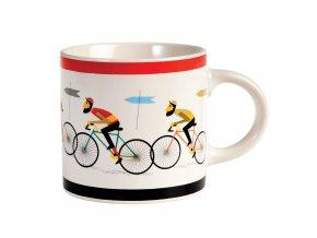 Hrnek - cyklisté