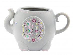 Porcelánový hrnek - slon