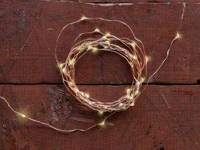 Měděný svítící řetěz