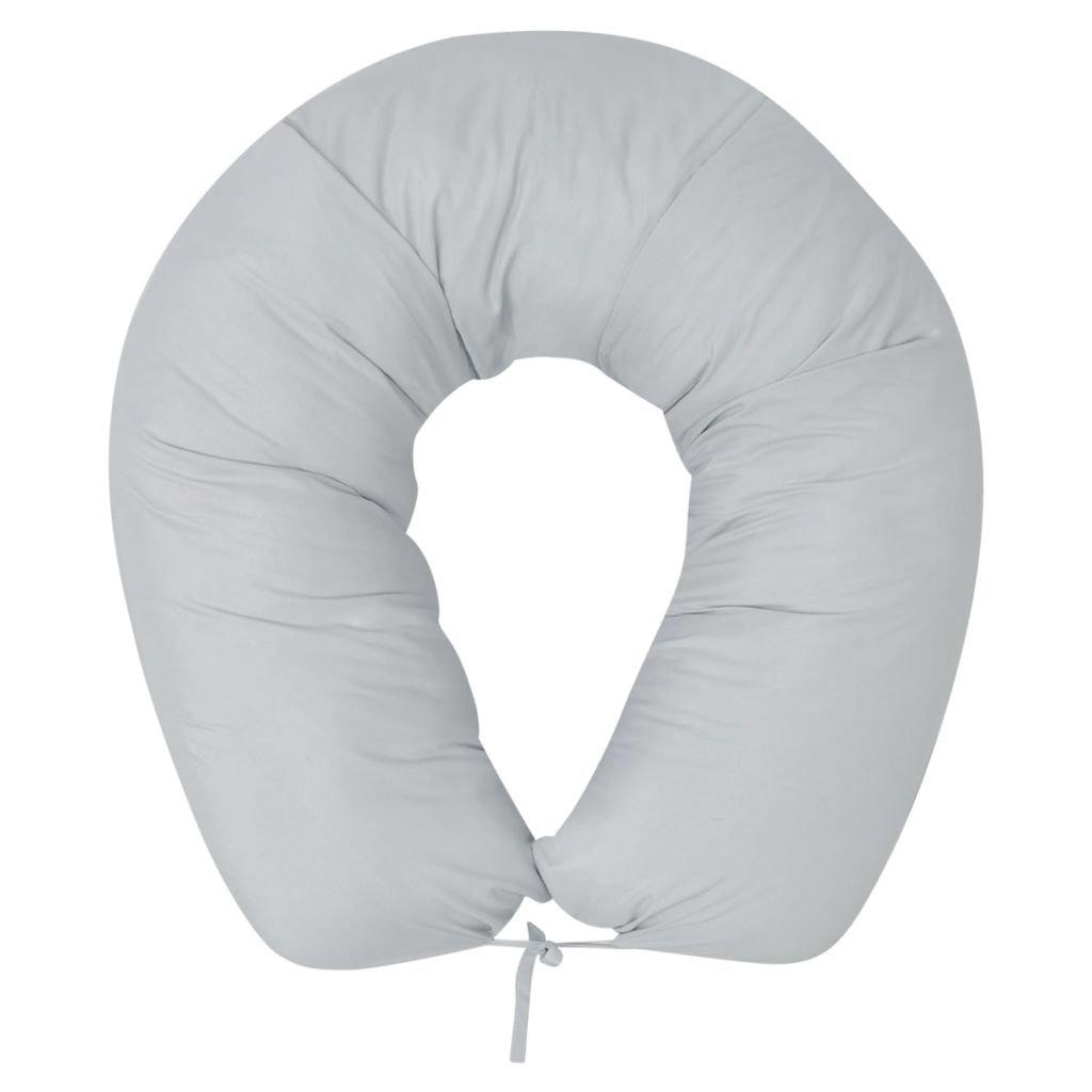 Těhotenský polštář - šedý | 40x170 cm