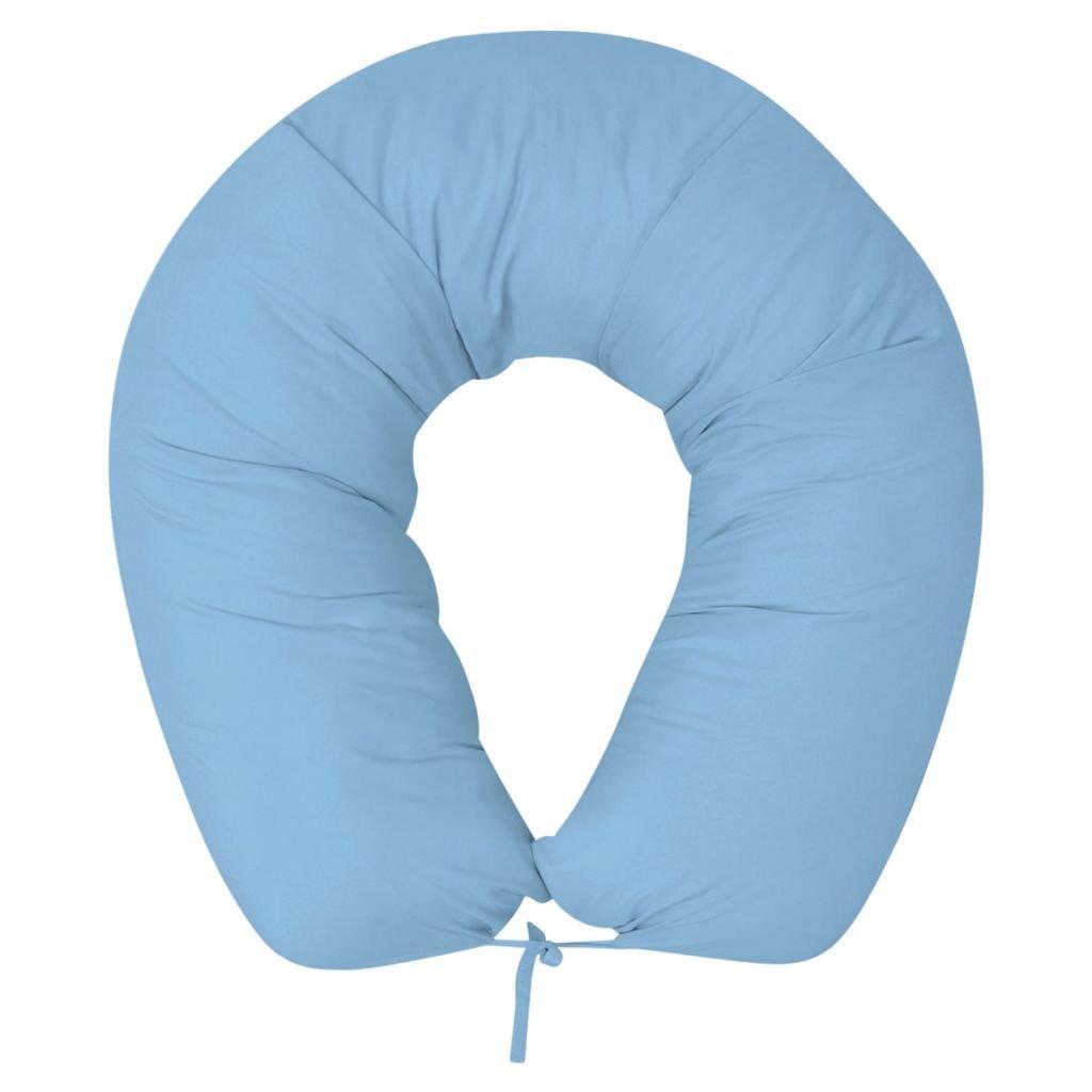 Těhotenský polštář - světle modrý | 40x170 cm