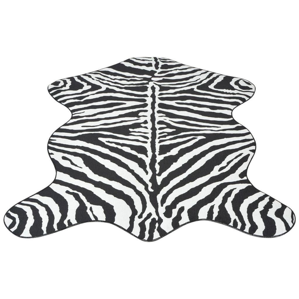 Tvarovaná rohož - zebra | 150x220 cm
