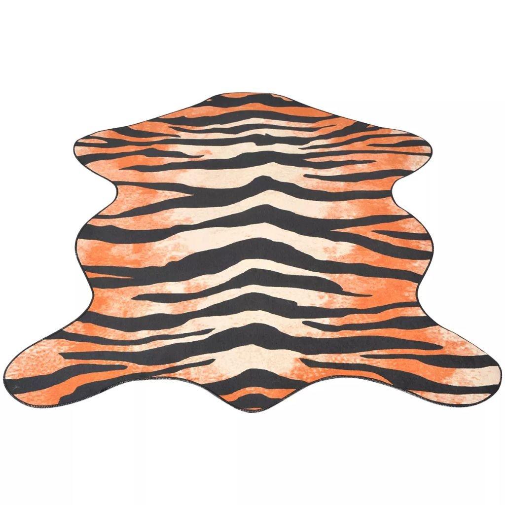 Tvarovaná rohož - potisk tygr | 110x150 cm