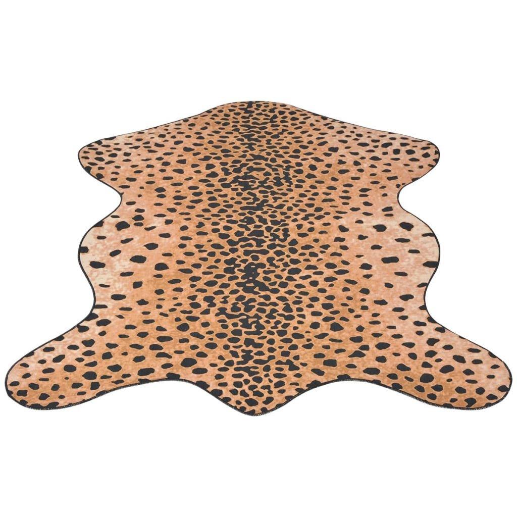 Tvarovaná rohož - potisk gepard | 70x110 cm