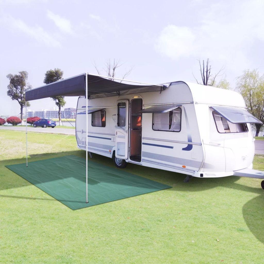 Kempingový koberec - 300x400 cm   zelená