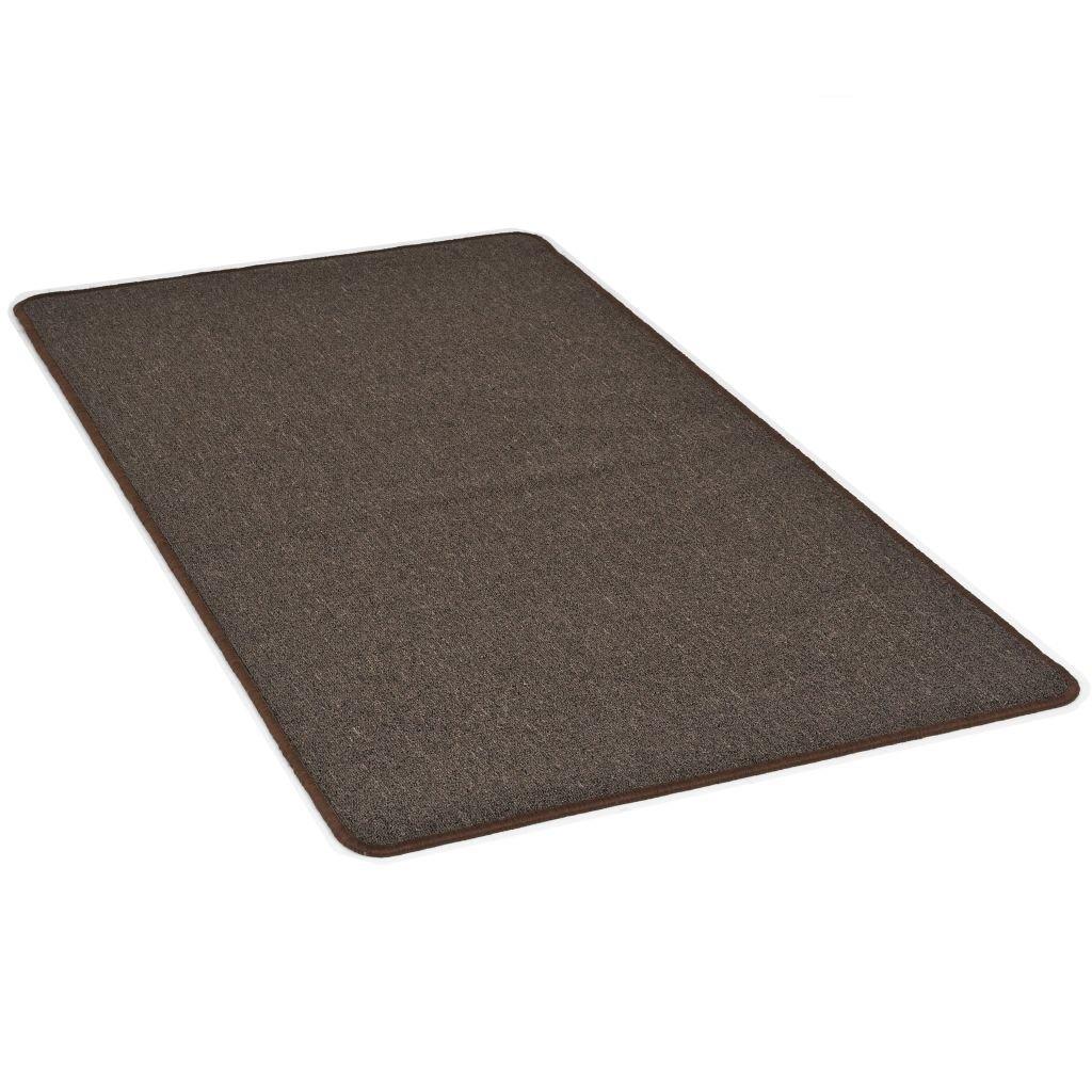 Všívaný koberec - hnědý   120x180 cm