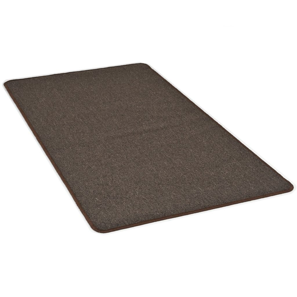 Všívaný koberec - hnědý | 120x180 cm