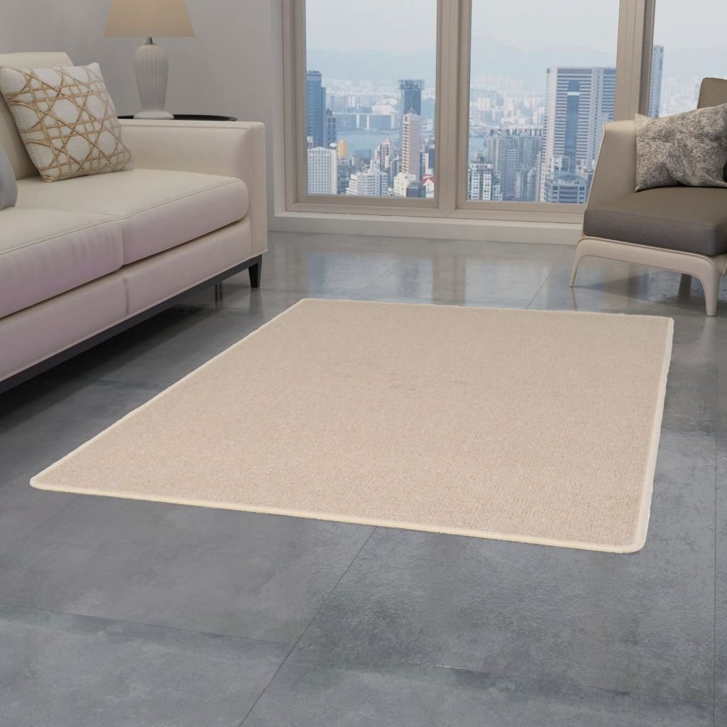 Všívaný koberec - béžový   80x150 cm