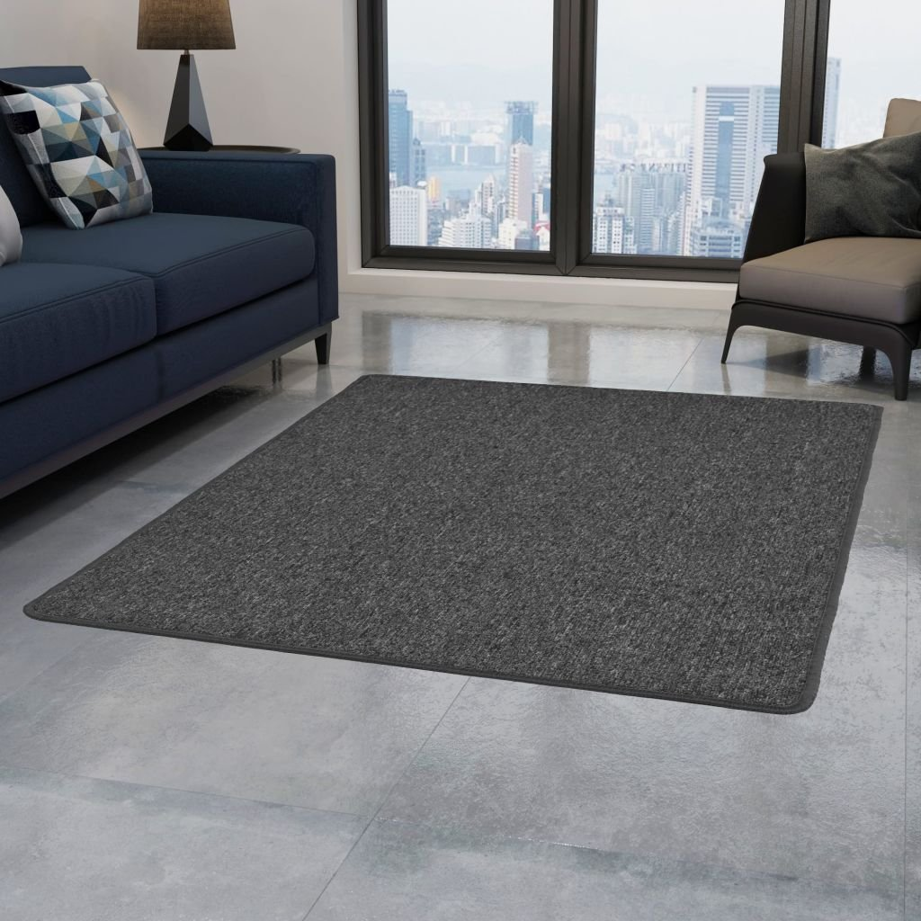Všívaný koberec - šedý | 80x150 cm