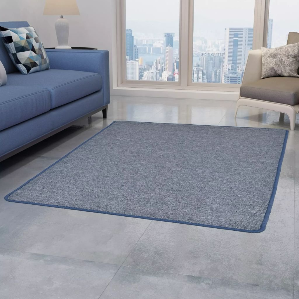 Všívaný koberec - modrý | 120x180 cm