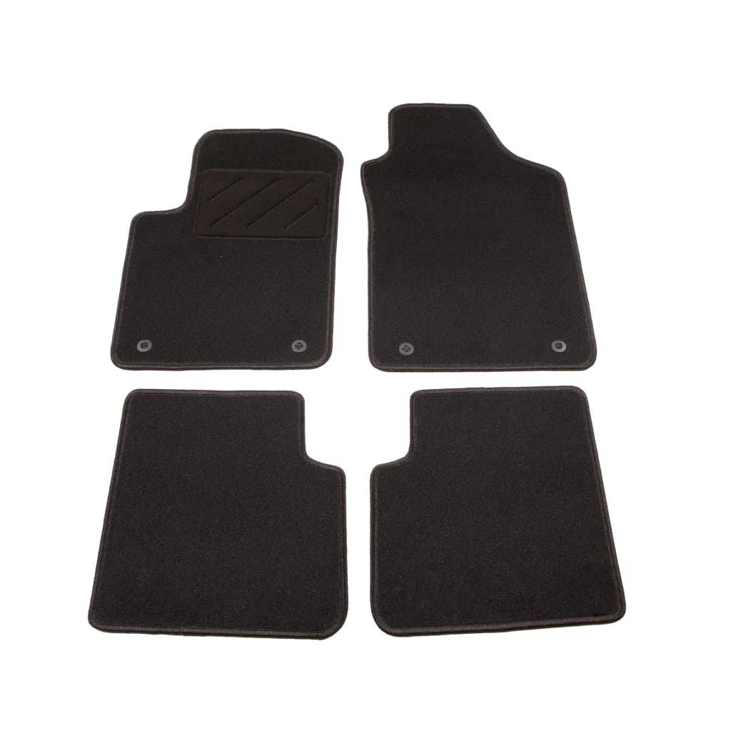 4-dílná sada koberců do auta | pro vozy Fiat 500 C Twinair