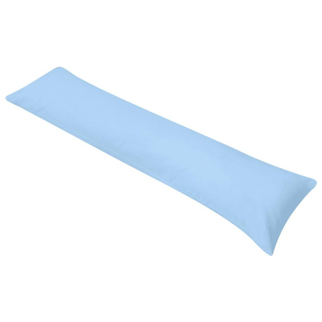 Polštář pro spaní na boku - modrý   40x145 cm