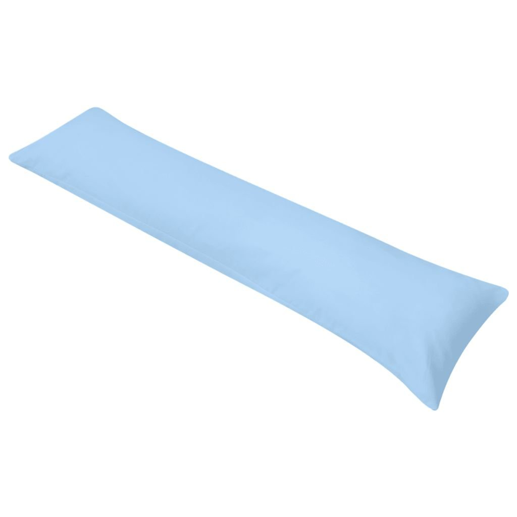 Polštář pro spaní na boku - modrý | 40x145 cm