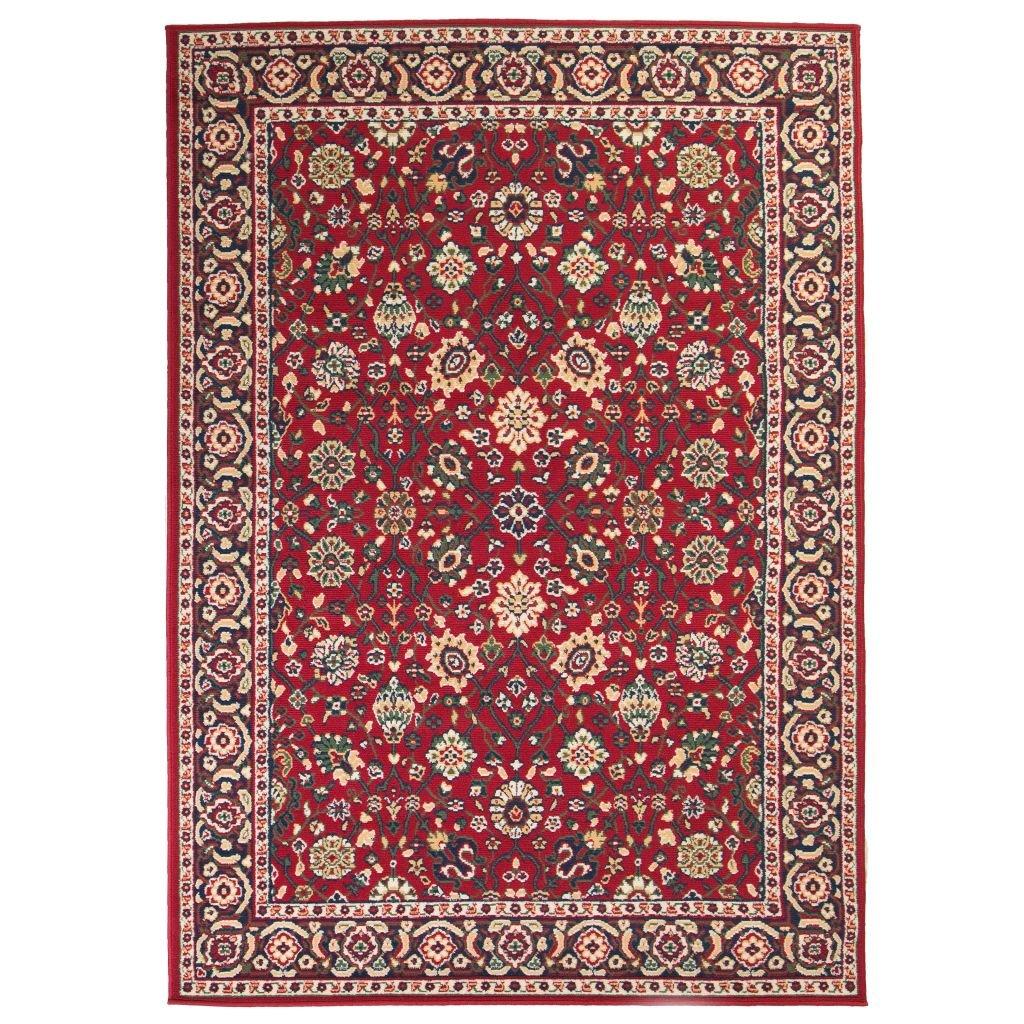 Orientální koberec v perském stylu - červeno-béžový | 140x200 cm