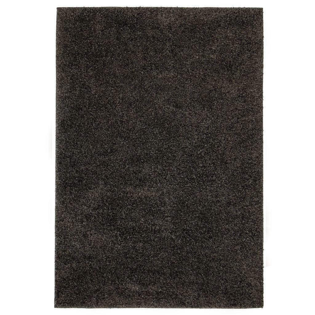 Kusový koberec - antracitový | 80x150 cm