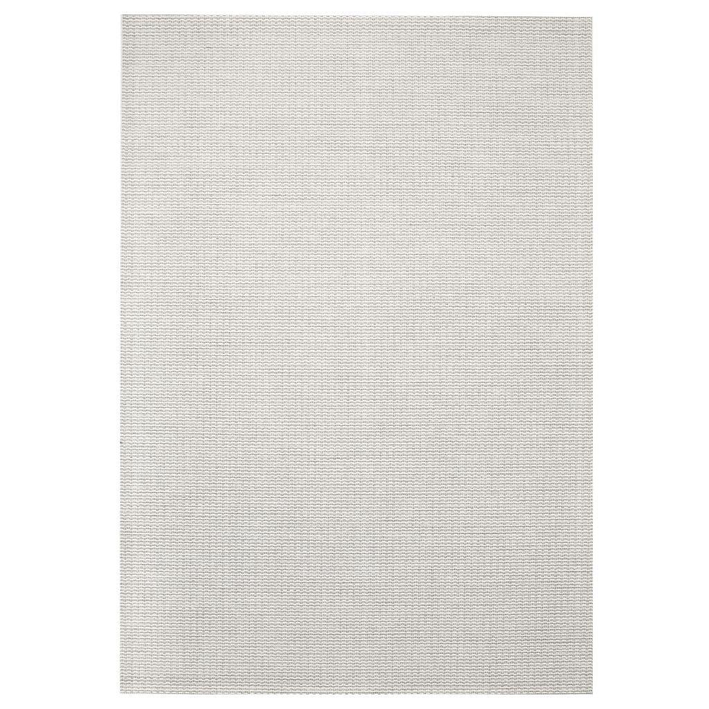 Venkovní/vnitřní kusový koberec - sisal vzhled - šedý   80x150cm