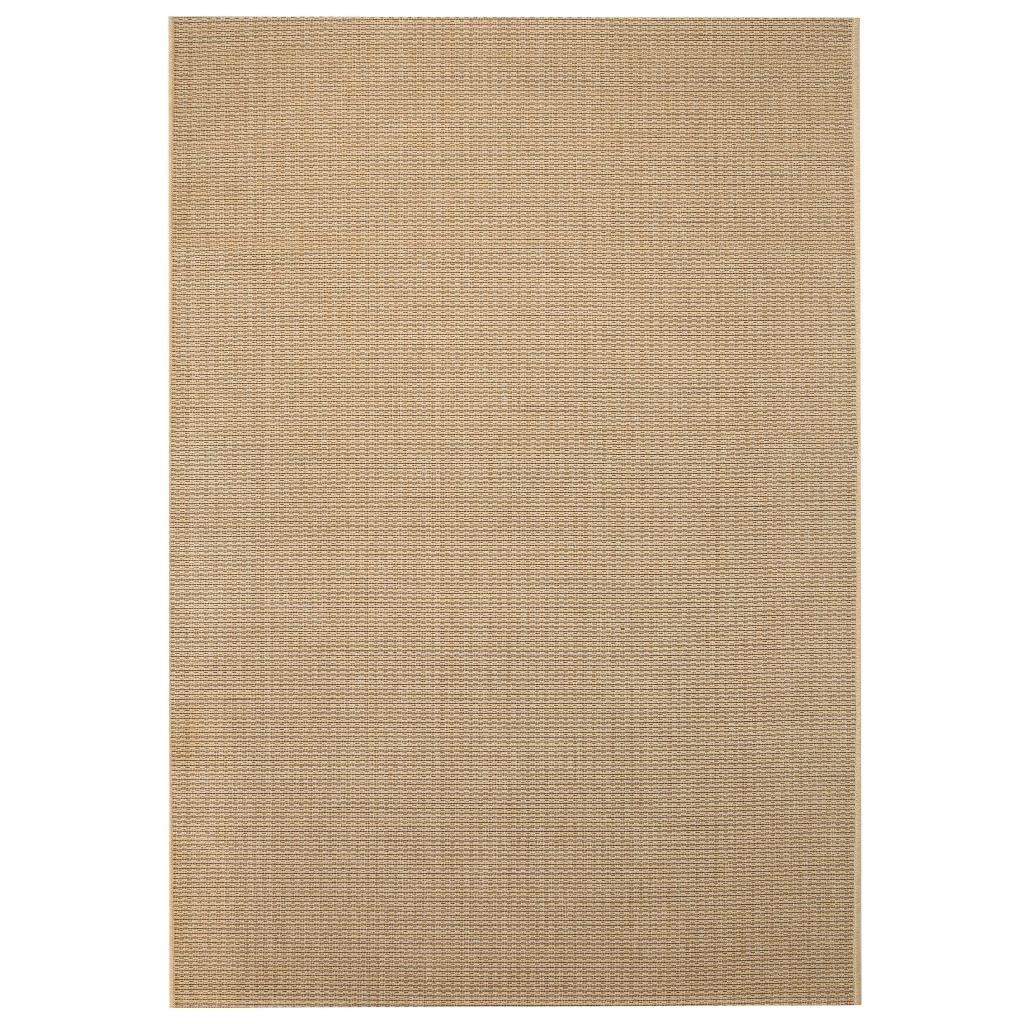 Venkovní/vnitřní kusový koberec - béžový | 120x170 cm