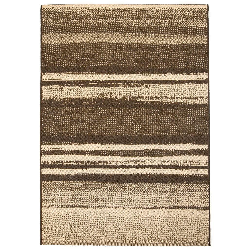 Venkovní/vnitřní kusový koberec - pruhy | 80x150 cm
