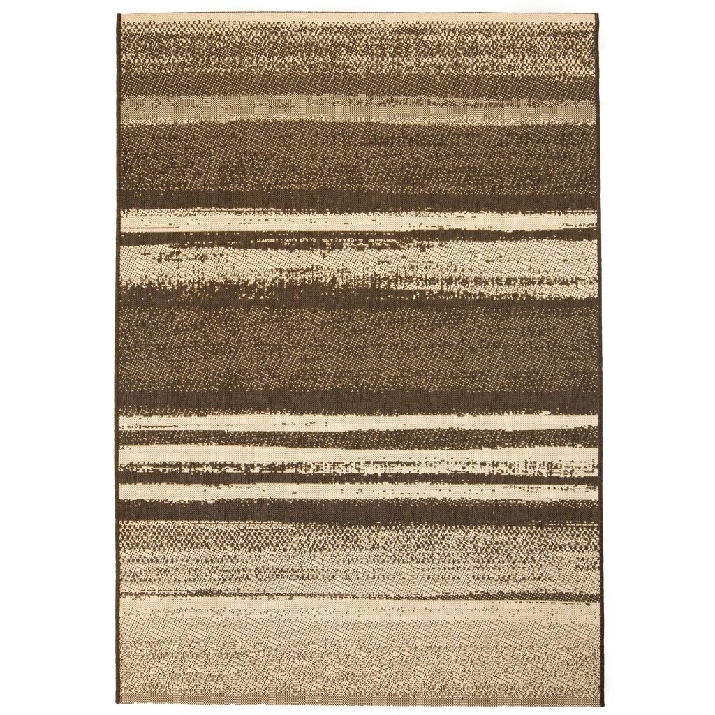 Venkovní/vnitřní kusový koberec - pruhy | 160x230 cm