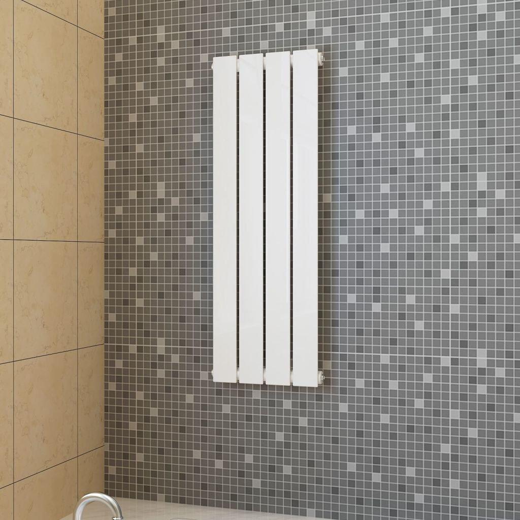 Lamelový radiátor - bílý | 311x900 mm