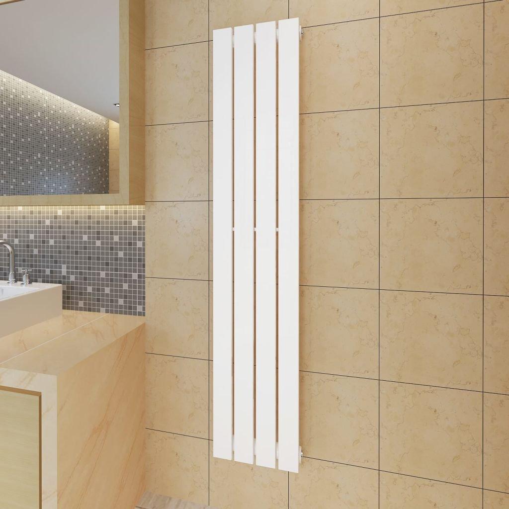 Lamelový radiátor - bílý | 311x1500 mm