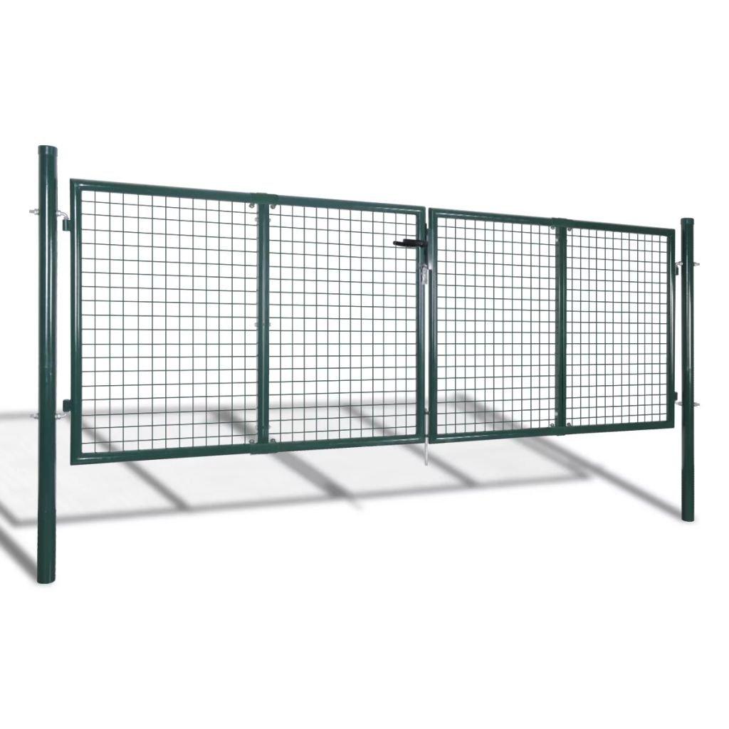 Zahradní plotová brána - pletivo | 289x75 cm / 306x125 cm