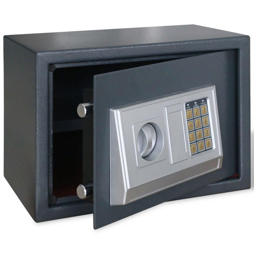 Elektronický digitální trezor s poličkou | 35x25x25 cm