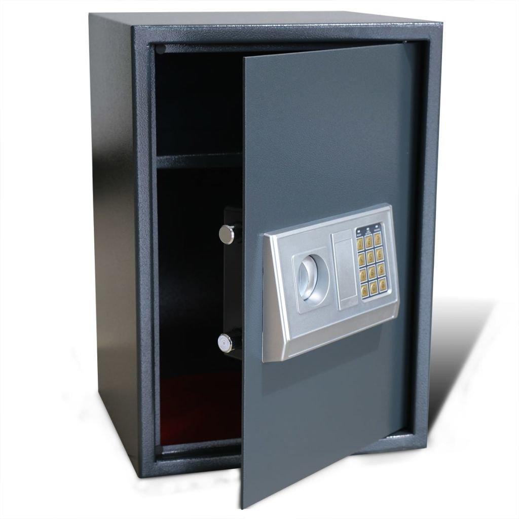 Elektronický digitální trezor s poličkou | 35x31x50 cm