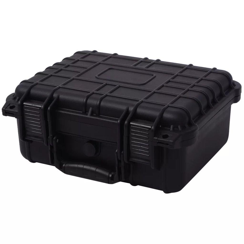 Ochranné pouzdro na fotovybavení - černé | 35x29,5x15 cm