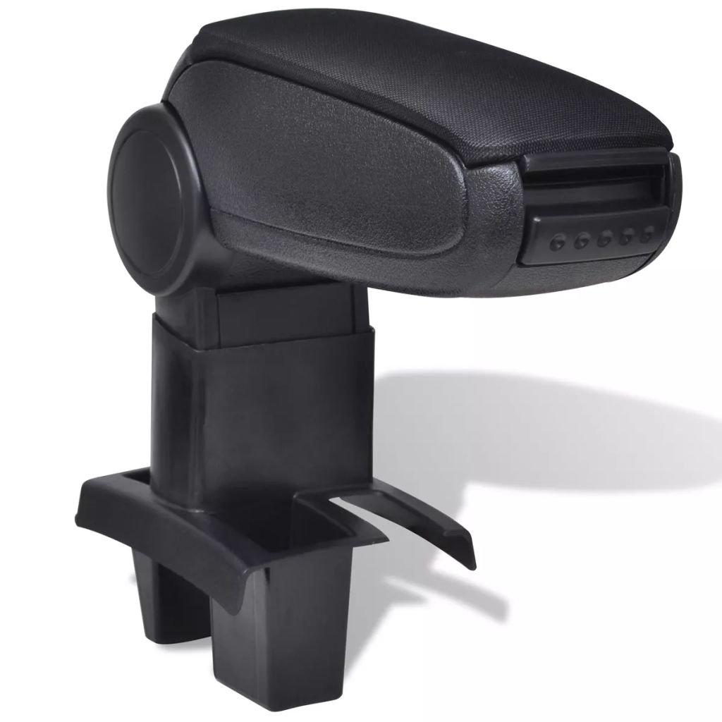 Černá auto loketní opěrka pro Peugeot 307 (2004)