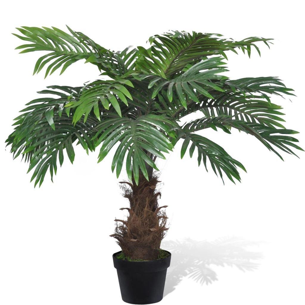 Umělá cykasová palma v květináči | 80 cm