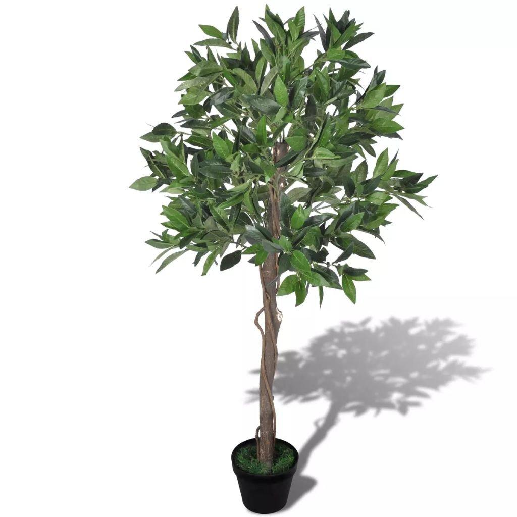Umělý vavřínový strom v květináči | 120 cm