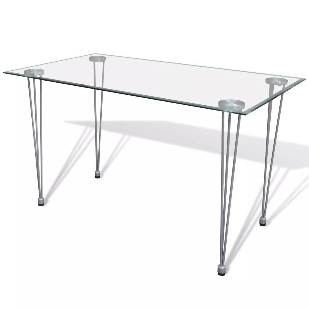 Jídelní stůl Meroo   skleněná deska