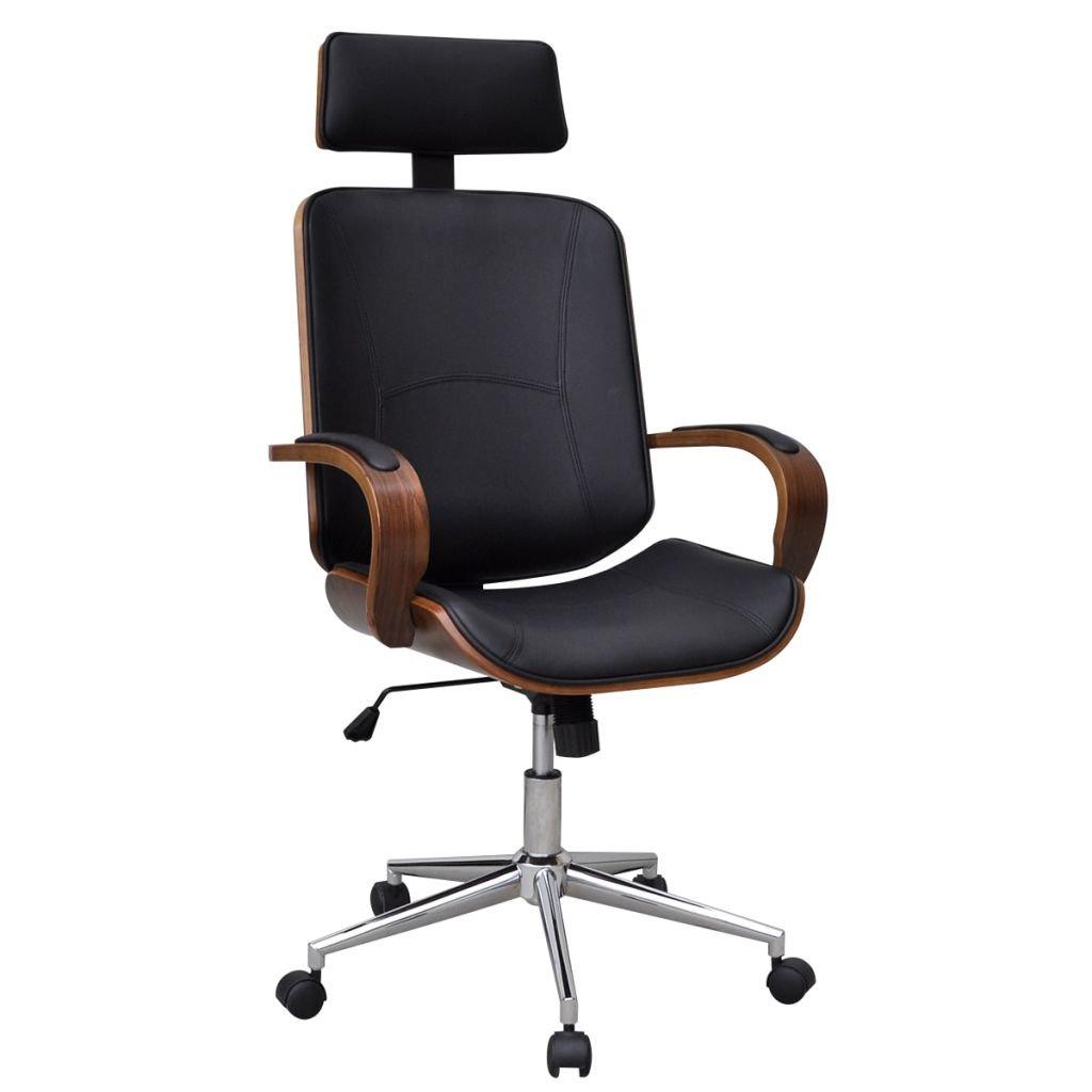 Otočná kancelářská židle Ritter s opěrkou hlavy | umělá kůže