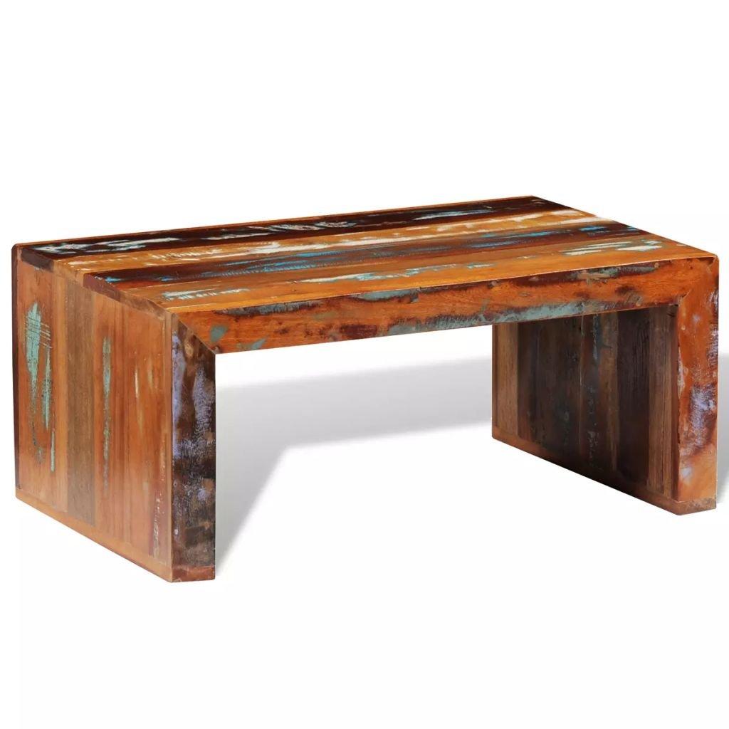 Konferenční stolek Pring ve starožitném stylu | recyklované dřevo