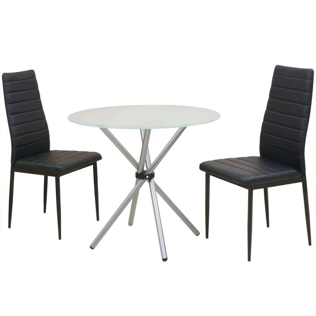 3-dílný jídelní set   jídelní stůl a židle