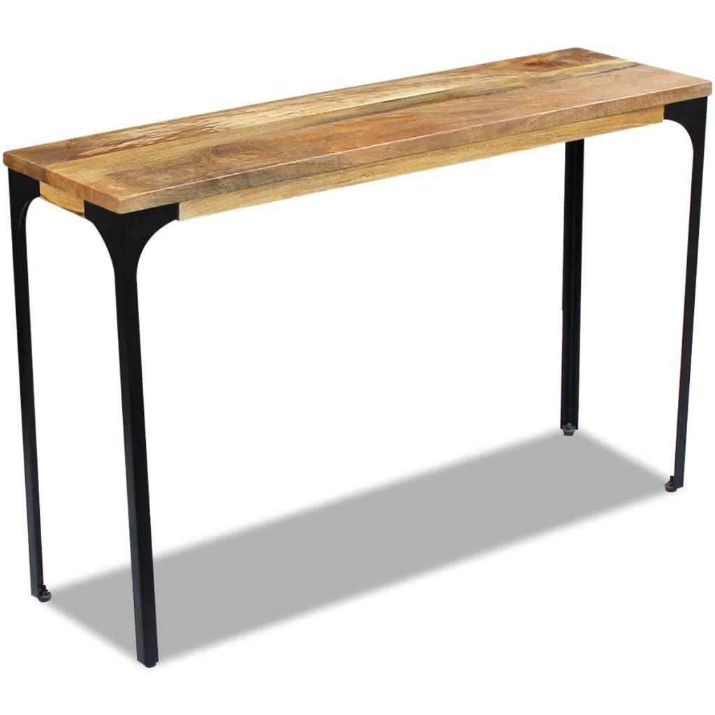 Konzolový stolek - masivní mangovníkové dřevo | 120x35x76 cm