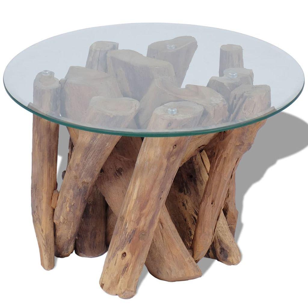 Konferenční stolek z masivního teaku   60 cm