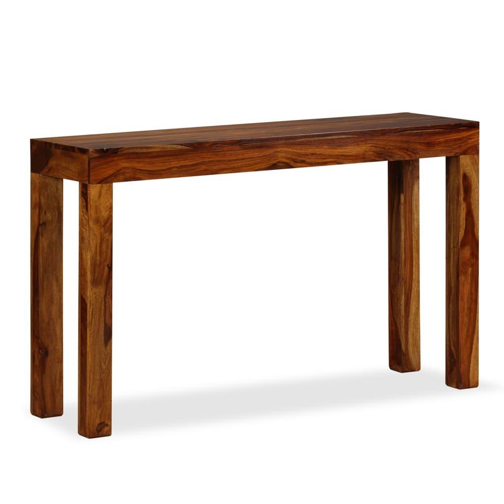 Konzolový stolek Kop z masivního dřeva | 120x35x75 cm