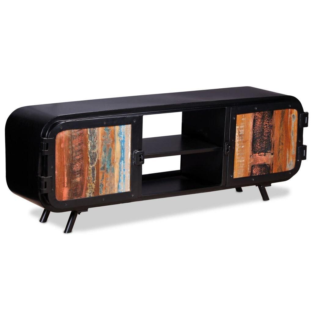 TV stolek - recyklované dřevo   120x30x45 cm