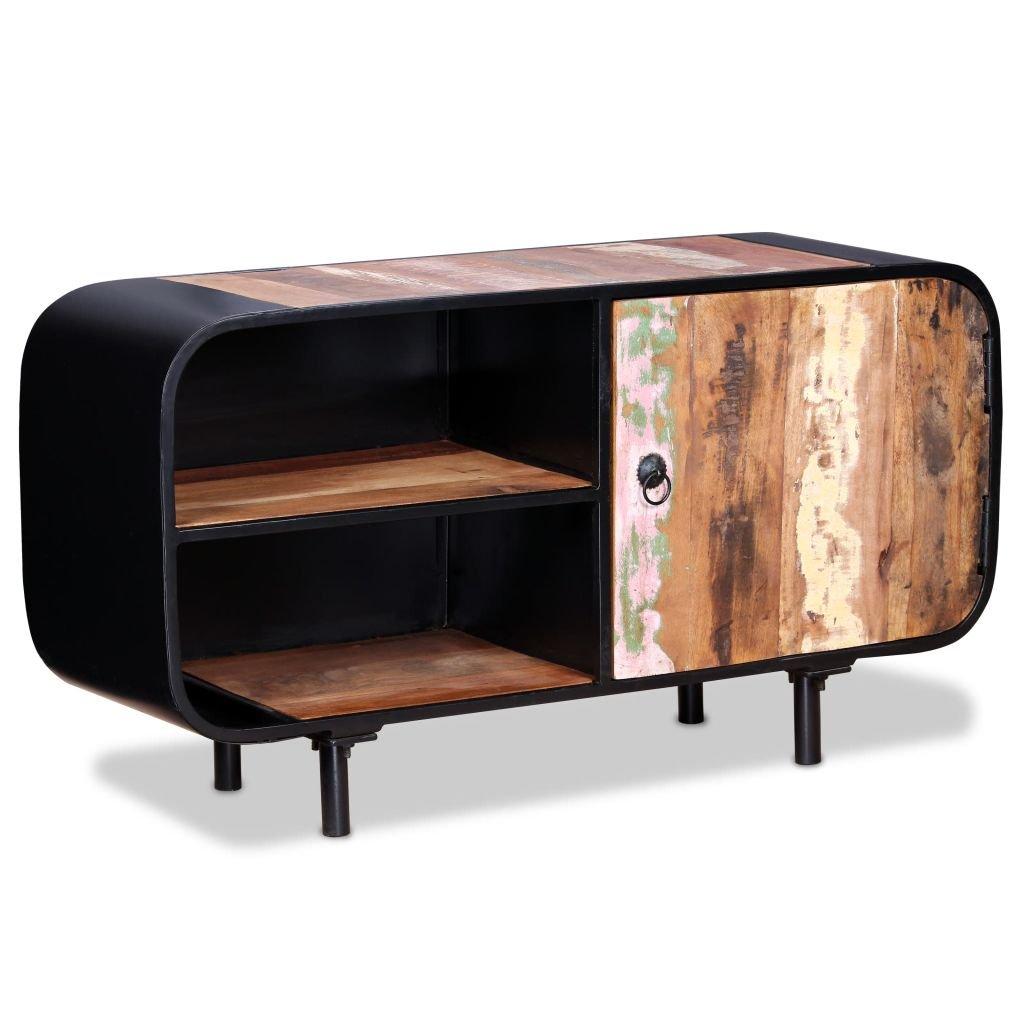 TV stolek - recyklované dřevo | 90x30x48 cm