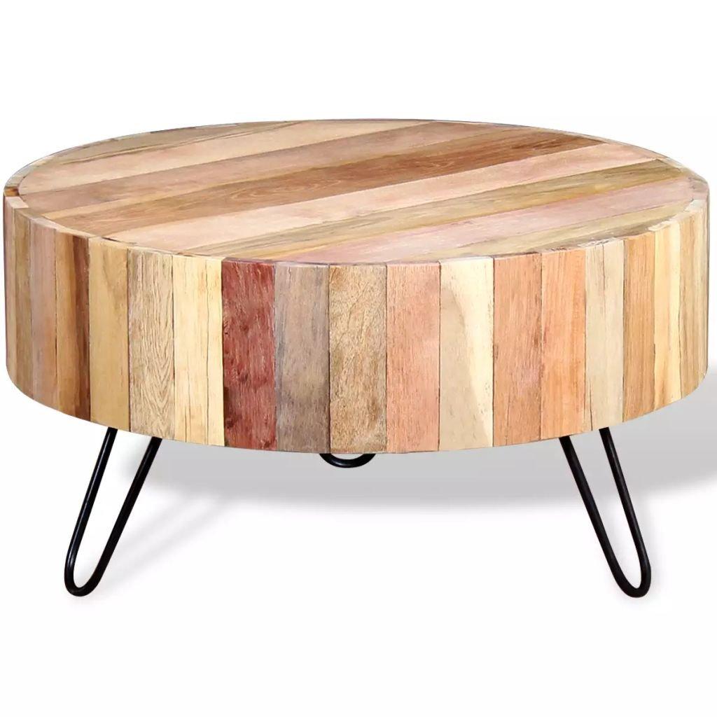 Konferenční stolek z masivního recyklovaného dřeva