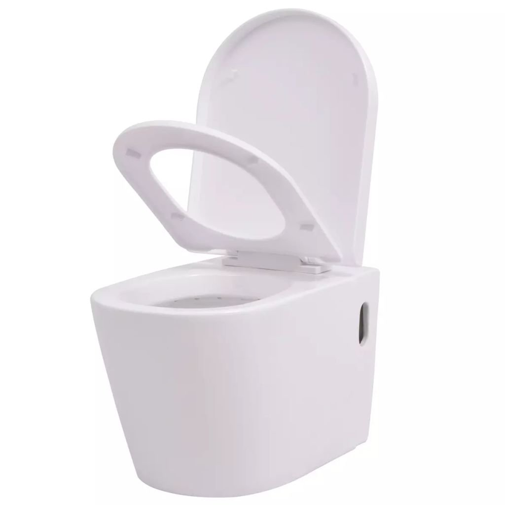 Závěsné WC - keramické | bílé
