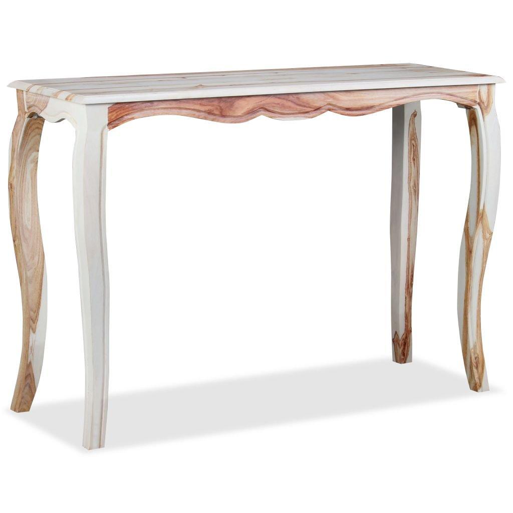 Odkládací stolek - masivní sheesham | 110x40x76 cm