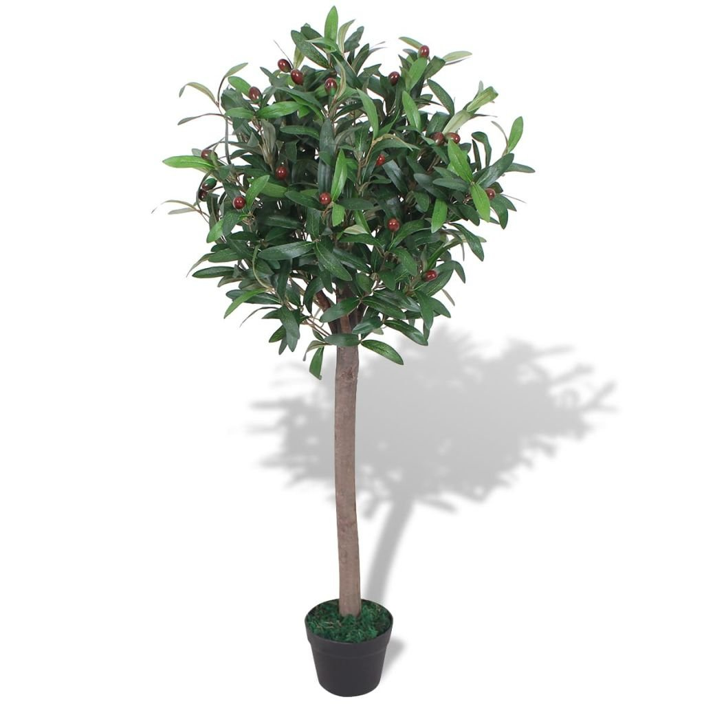Umělá rostlina vavřín s květináčem - 120 cm   zelený