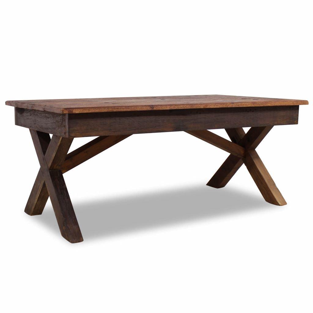 Konferenční stolek - masivní recyklované dřevo | 110x60x45 cm