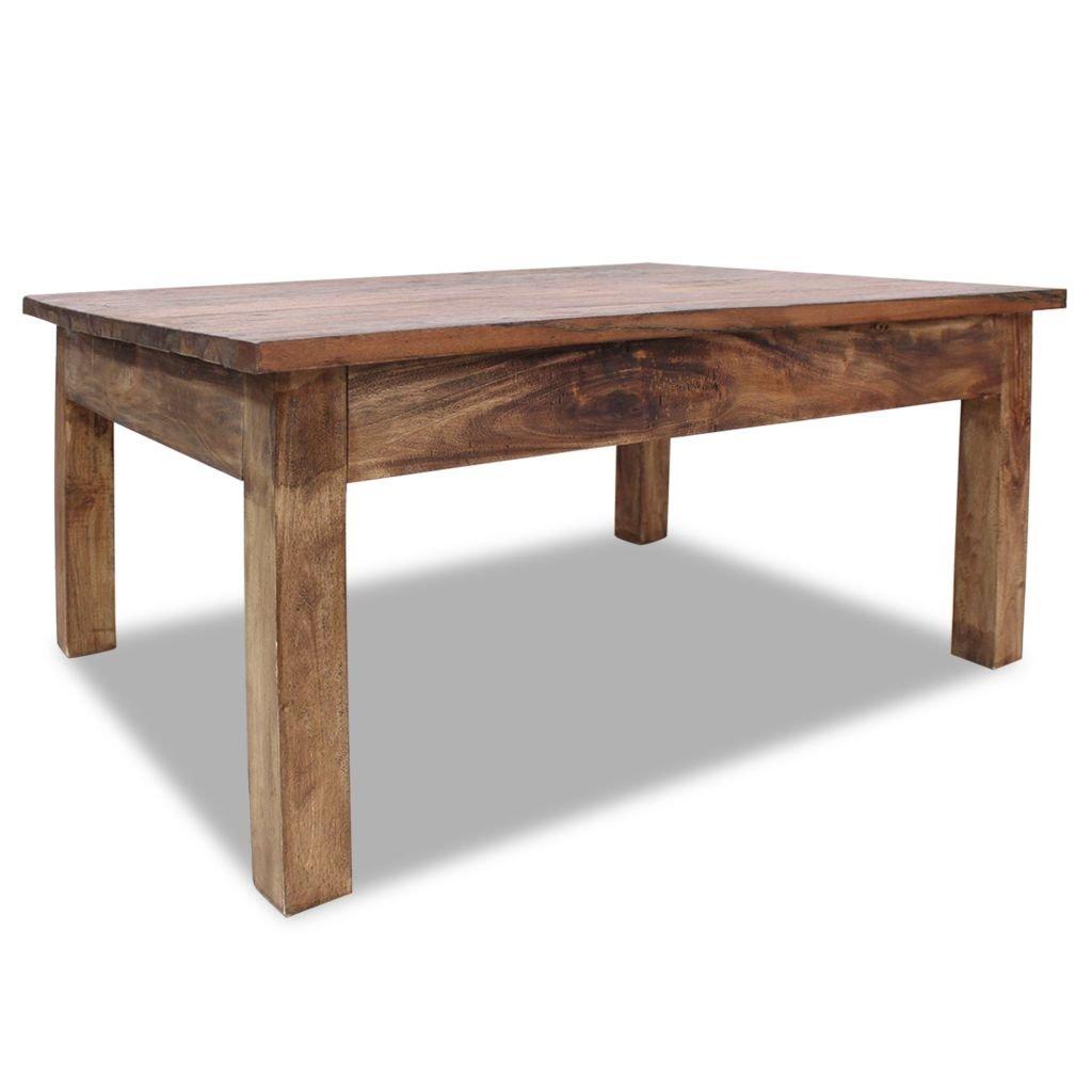 Konferenční stolek Tampa - masivní recyklované dřevo   98x73x45 cm