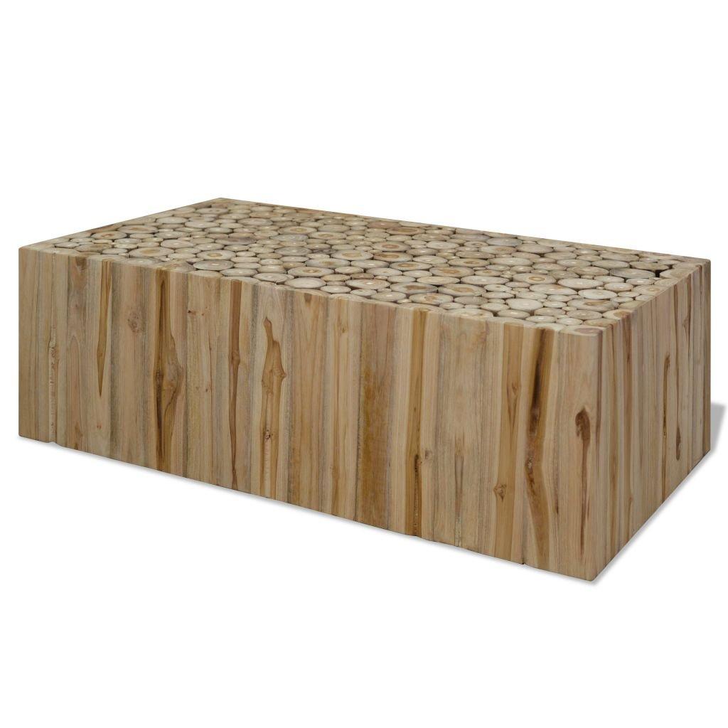 Konferenční stolek Retre - pravý teak   90x50x35 cm