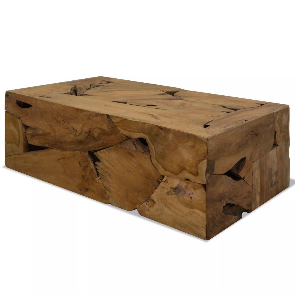 Konferenční stolek z pravého teaku | 90x50x35 cm